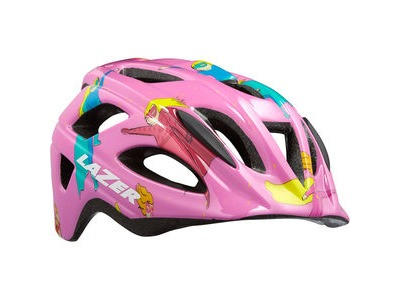 LAZER P'Nut Helmet, Super Girl Pink, Uni-Kids