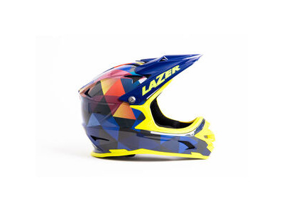 LAZER Phoenix+ Helmet, Gloss Triangles