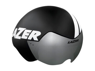 LAZER Victor Helmet, Matt Black Stripes