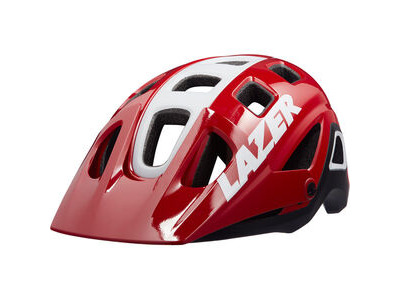 LAZER Impala Helmet, Gloss Red/White