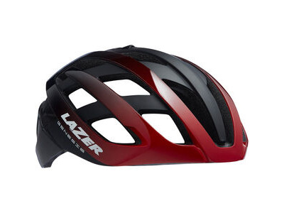 LAZER Genesis Helmet, Gloss Red/Black