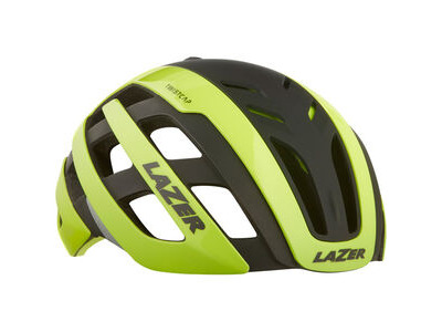 LAZER Century Helmet, Flash Yellow/Black