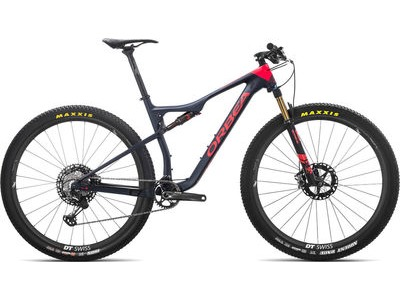 ORBEA OIZ 29 M-Team S Blue/Red  click to zoom image