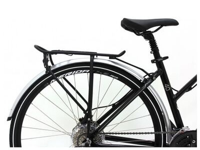MERIDA Silver Mudguard and Pannier Rack SET for All Crossways