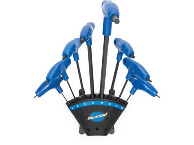 PARK TOOL PH-1.2 P-Handled Hex Wrench Set with Holder