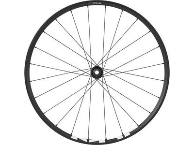 SHIMANO WH-MT500 MTB wheel, 27.5 in (650b), 15 x 100mm thru-axle, front, black