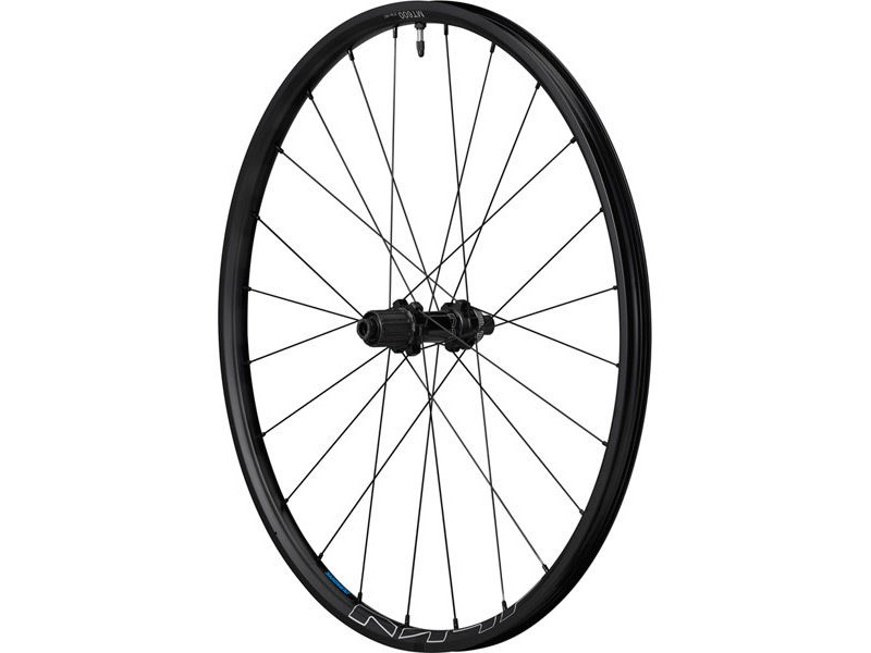 SHIMANO WH-MT600 tubeless compatible wheel, 27.5 in, 12 x 148 mm axle, rear, black click to zoom image