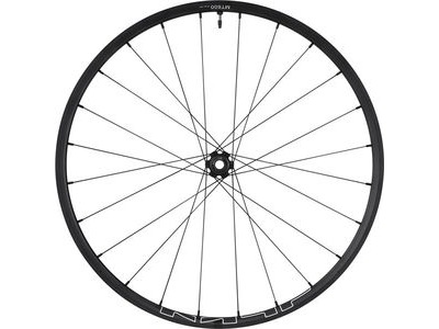 SHIMANO WH-MT600 tubeless compatible wheel, 27.5 in, 15 x 100 mm axle, front, black