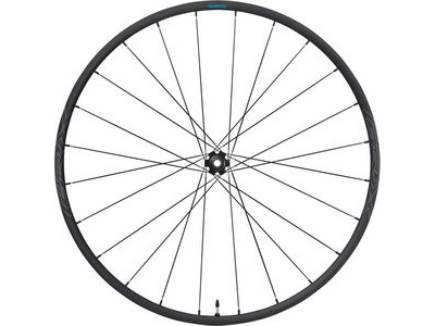 SHIMANO WHRX570F1265H-RX570 650b wheel, 12x100mm E-thru, Center Lock disc, black, front
