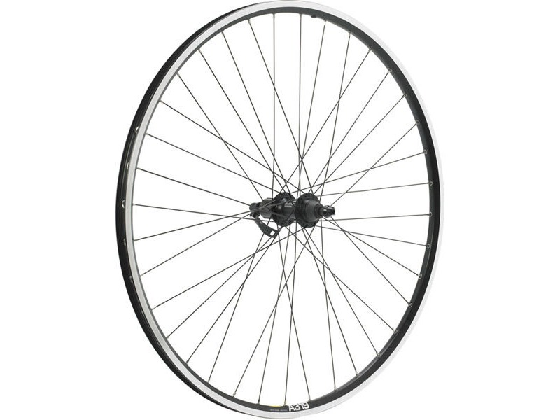M PART Shimano Deore/Mavic A319 black/DT Swiss P/G 36 hole rear wheel click to zoom image
