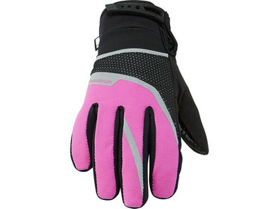 MADISON Protec youth waterproof gloves, knockout pink