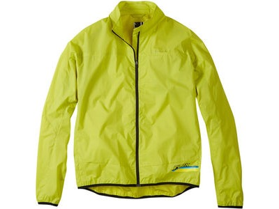 MADISON Flux super light men's packable shell jacket, limeaid