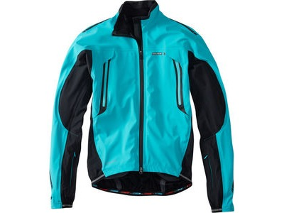 MADISON RoadRace Apex men's waterproof storm jacket, blue curaco