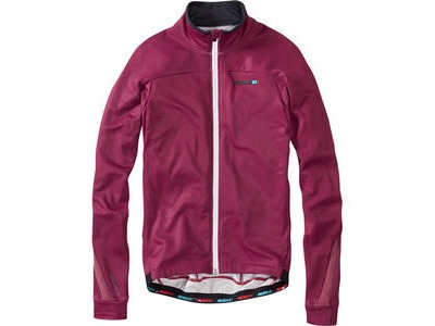 MADISON RoadRace men's long sleeve thermal jersey, classy burgundy