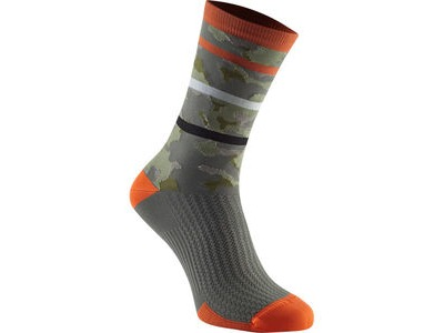 MADISON RoadRace Premio extra long sock, shocking orange limited