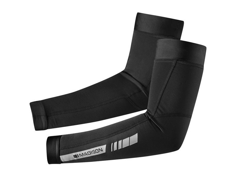 MADISON Sportive Thermal arm warmers, black click to zoom image