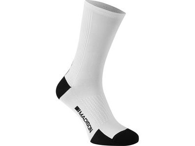 MADISON RoadRace Premio extra long sock, white