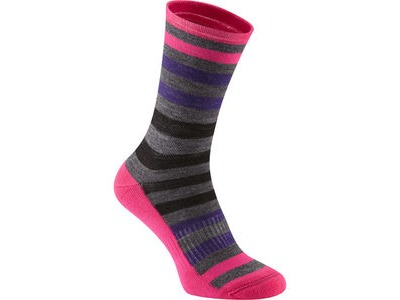 MADISON Isoler Merino 3-season sock, pink pop