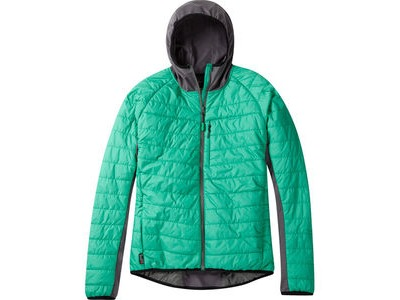 MADISON DTE men's hybrid jacket, emerald green