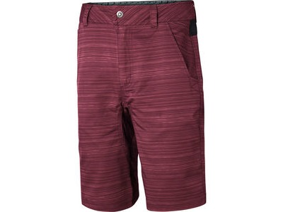MADISON Roam men's shorts pinned stripes black grape/fudge
