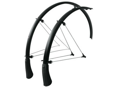 SKS Bluemels Mudguard Set Matt Black 28""