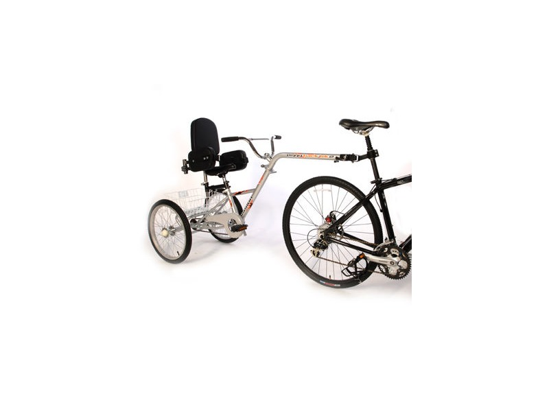 "MISSION Piggyback 20"" wheel with special adaptions click to zoom image"